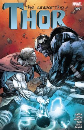 The Unworthy Thor Issue 5 - Cover
