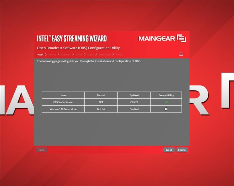 MAINGEAR Partners with Intel® for New Easy Streaming Wizard Software