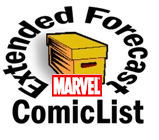 comicsinfutureMARVEL ComicList Extended Forecast for 01/14/2009