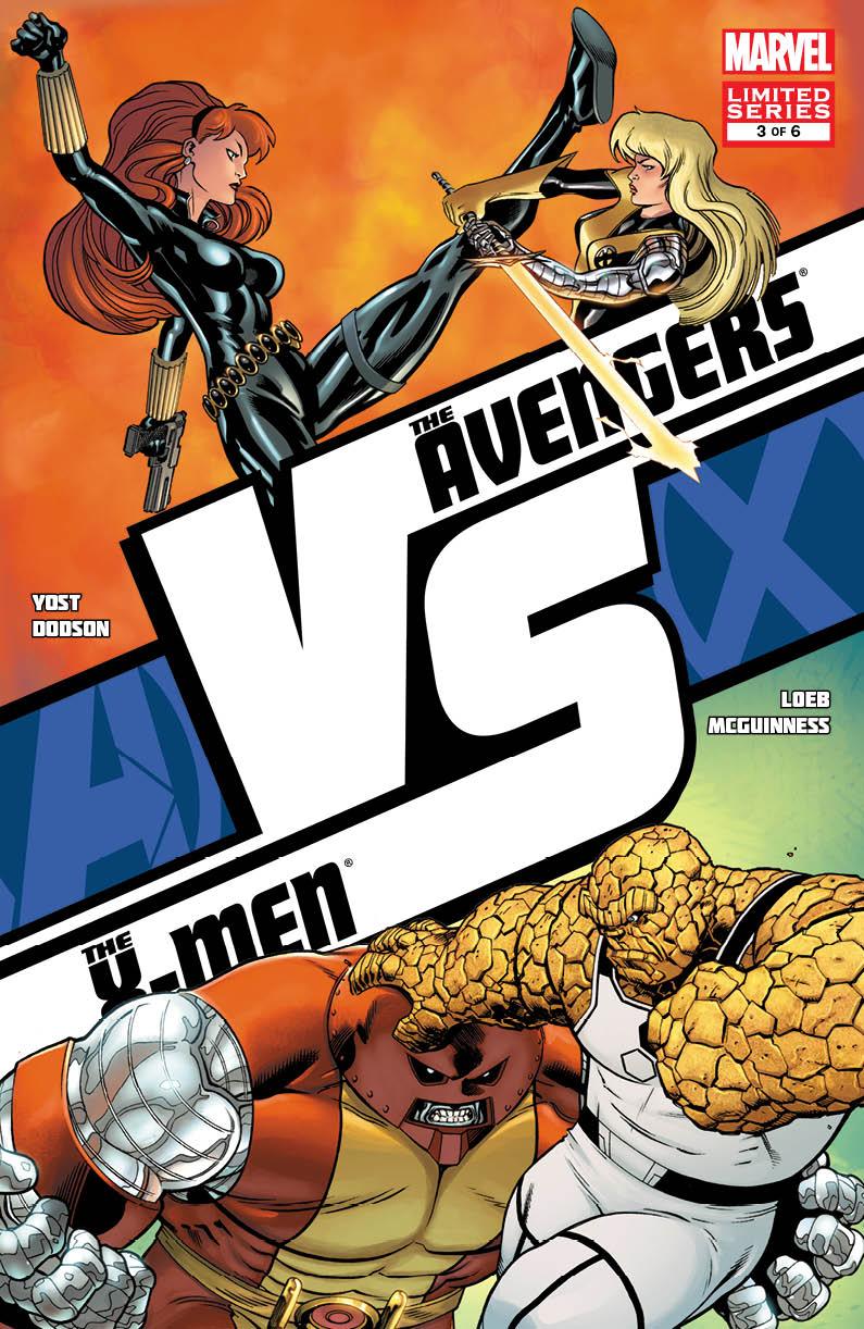 AVXVS_3_Cover Marvel reveals four new AVENGERS VS. X-MEN covers