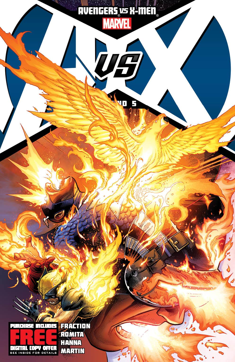 AvengersVSXMen_5_Cover Marvel reveals four new AVENGERS VS. X-MEN covers