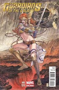 GuardiansOfTheGalaxy_5_VariantManara ComicList: Marvel Comics for 07/31/2013