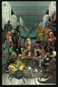 Guardians_of_the_Galaxy_24_Cover First Look at GUARDIANS OF THE GALAXY #24