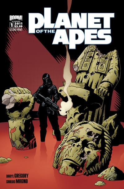 PlanetOfTheApes_01_2ndPrint ComicList: BOOM! Studios for 06/01/2011