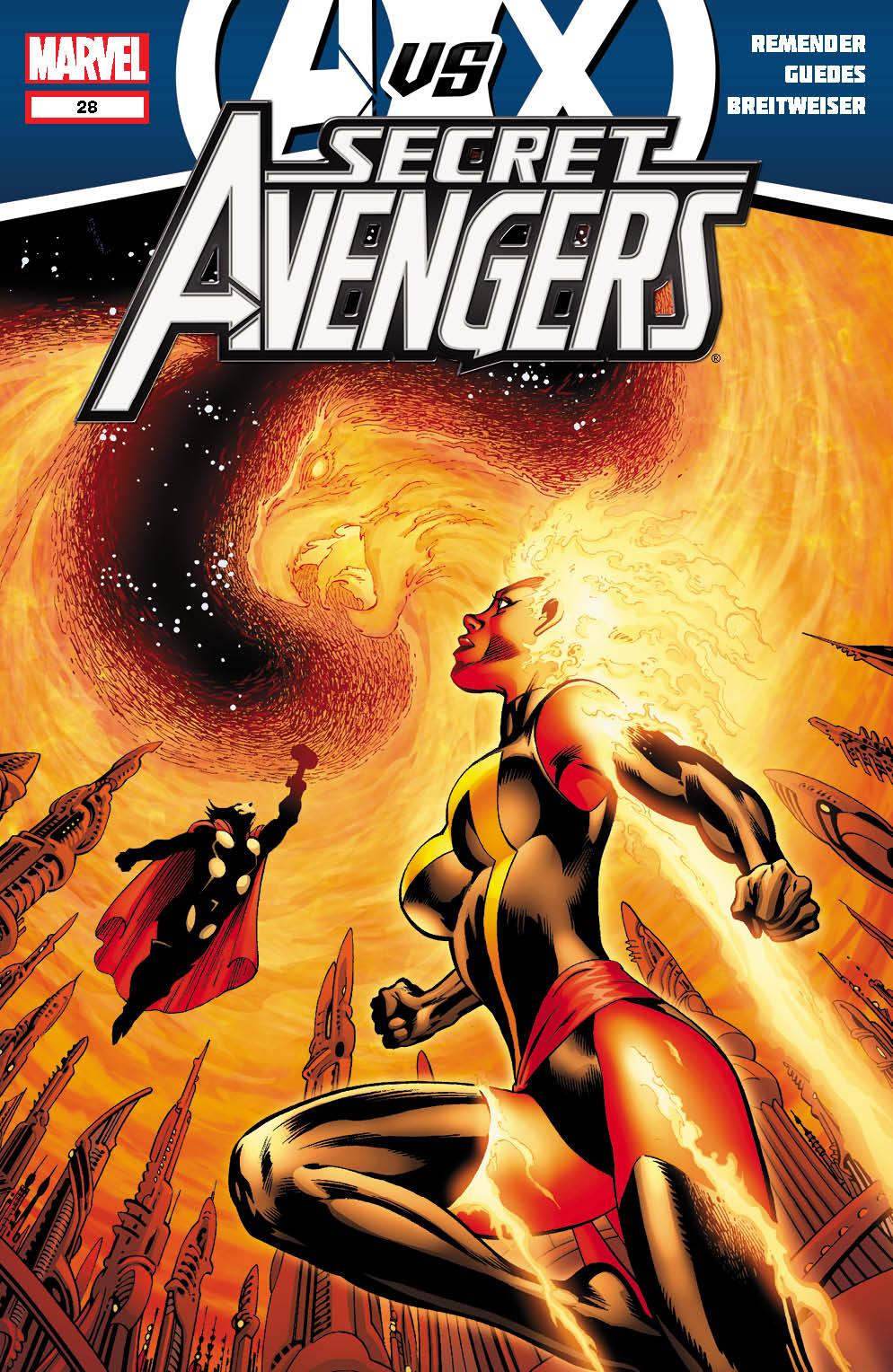 SecretAvengers_28_Cover Marvel reveals four new AVENGERS VS. X-MEN covers