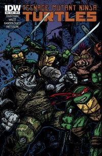 TMNT40_cvrB ComicList: IDW Publishing New Releases for 11/26/2014