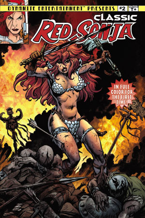 TNClassicRS02CovBrunner ComicList: Dynamite Entertainment for 07/21/2010