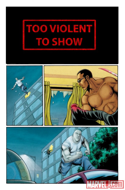 ULTAVG3_1_PREVIEW3 First Look At ULTIMATE COMICS AVENGERS 3 #1