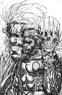 Wolverine_310_CoverVariantPlattSketch ComicList: Marvel Comics for 07/04/2012