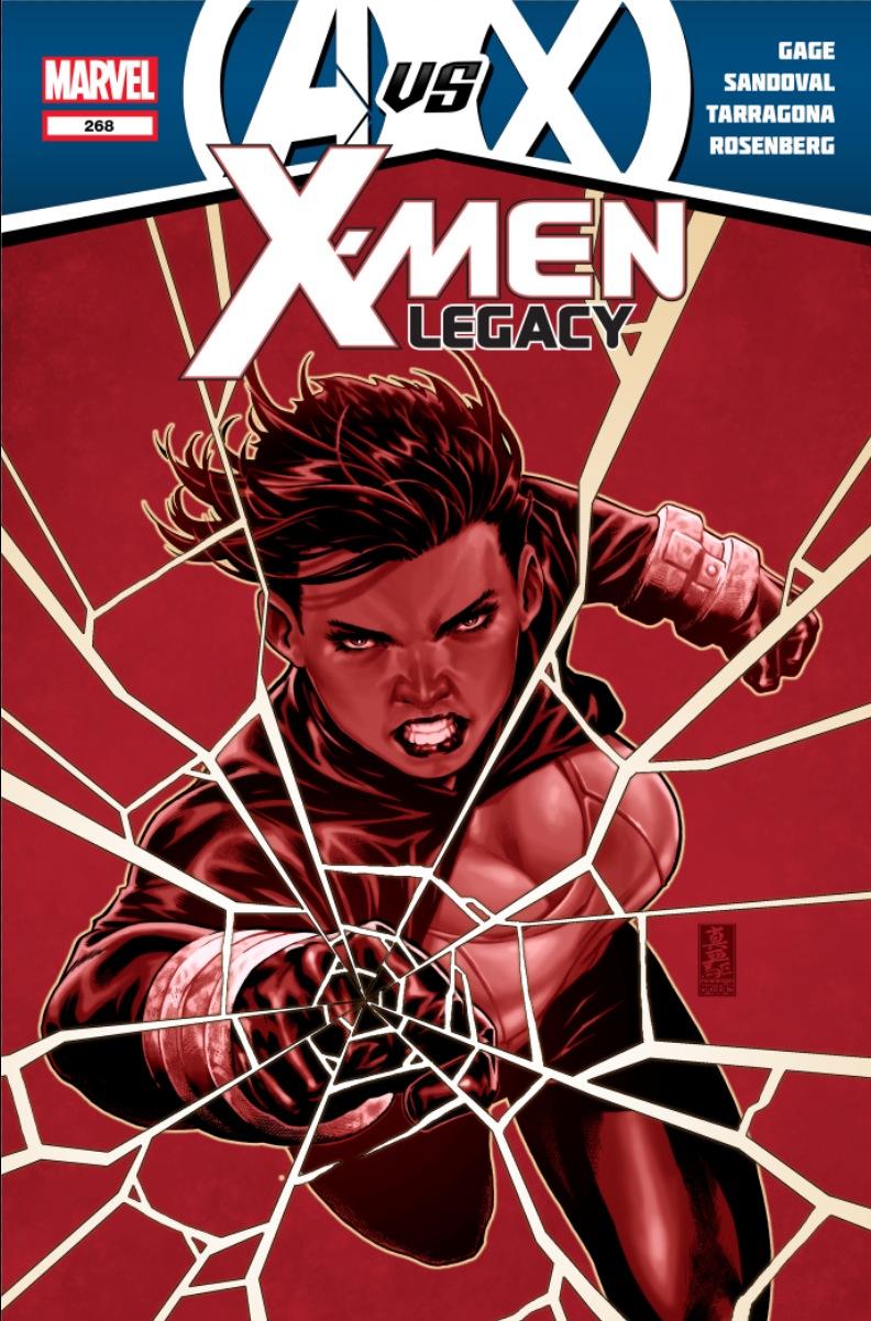 XMenLegacy_268_Cover Marvel reveals four new AVENGERS VS. X-MEN covers