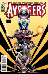 cassadayavengersdecades1-4 ComicList: Marvel Comics for 09/11/2013