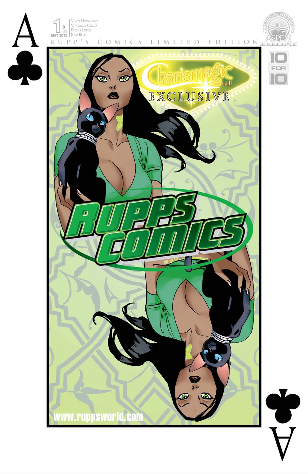 00d-00_CHV2-01-rupp1562BE9 CHARISMAGIC #1 features personalized retailer exclusive covers