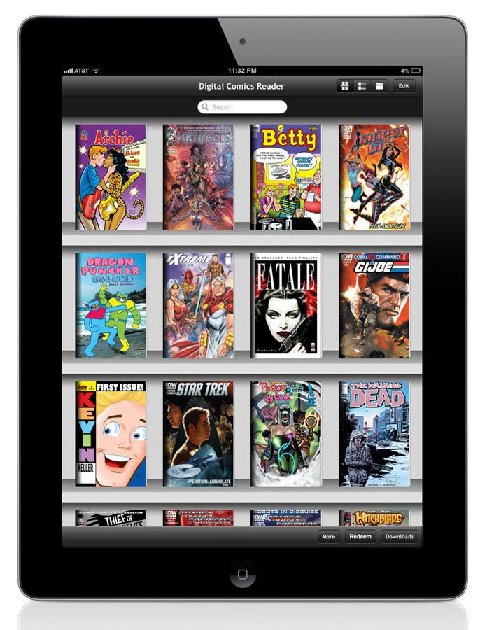 1328900199 iVerse and Diamond Distribution announce Digital Comics Reader
