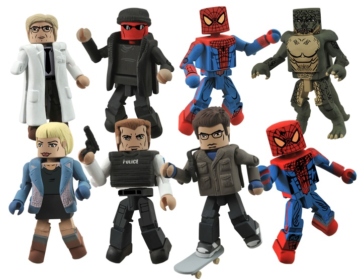 1331063663 Minimates take SPIDER-MAN to new levels of excitement