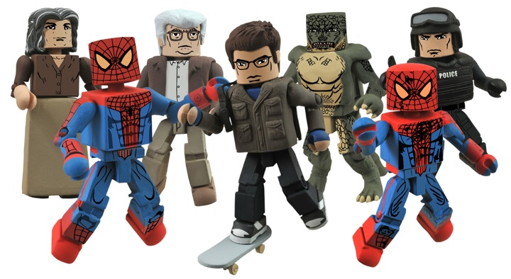 1331063665 Minimates take SPIDER-MAN to new levels of excitement