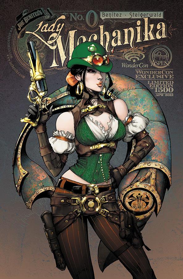 1331578403 Aspen brings creators and exclusive books to WonderCon 2012