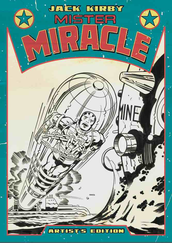 1e332fe0-3897-454b-be26-bef2cedd428d Jack Kirby's second Artist's Edition features MISTER MIRACLE