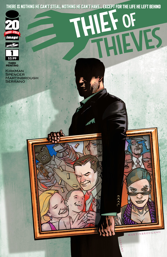 514603990503150 First and third issues of THIEF OF THIEVES get reprinted