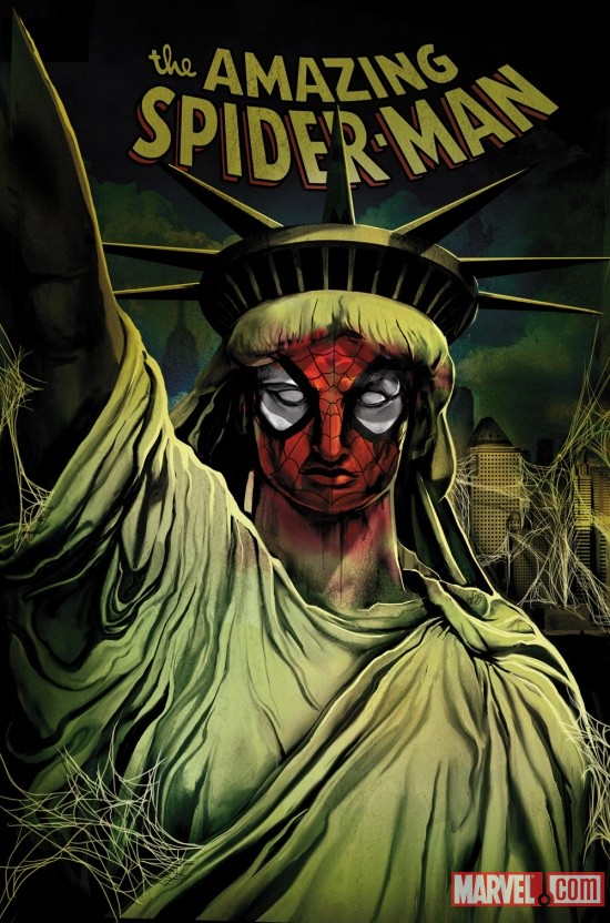 ASM666 Marvel announces major new storyline SPIDER-ISLAND