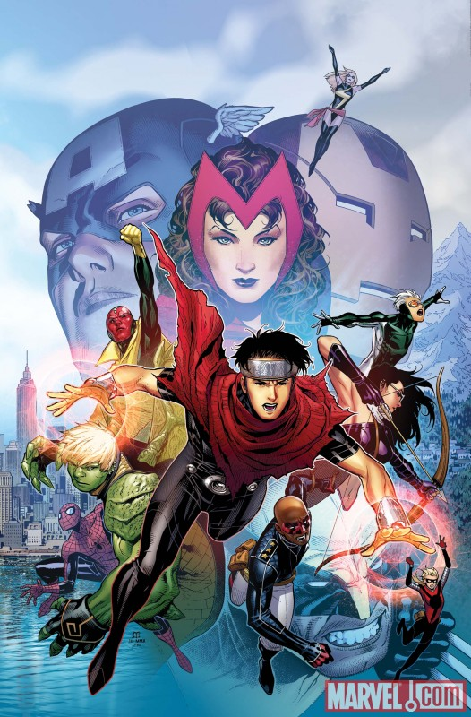 AVNCC_1_Cover First Look At AVENGERS: CHILDREN'S CRUSADE #1