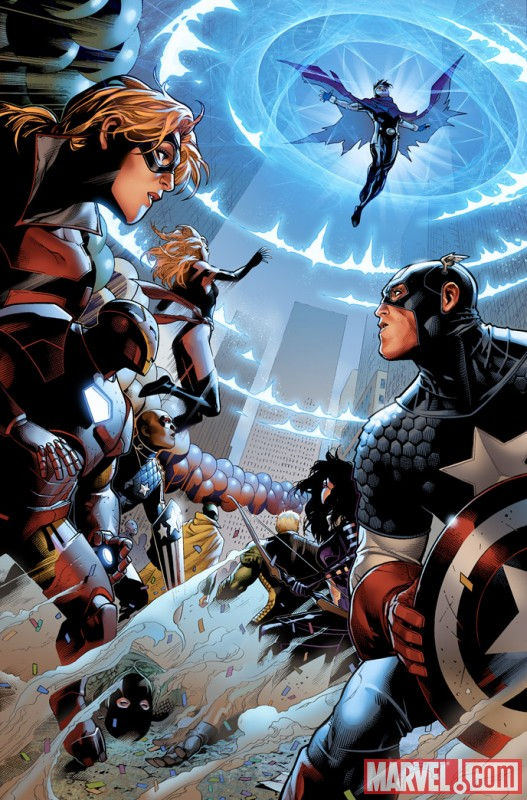 AVNCC_1_Preview6 First Look At AVENGERS: CHILDREN'S CRUSADE #1