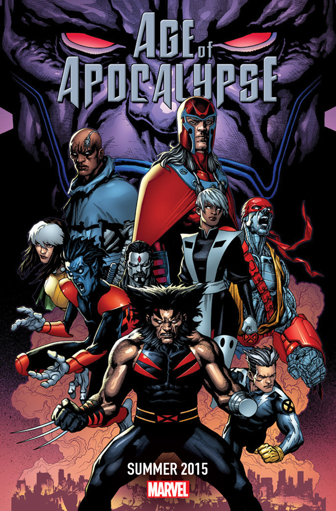 Age_of_Apocalypse_2015 AGE OF APOCALYPSE merely shows what children we remain