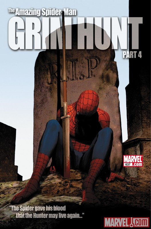 AmazingSpiderMan_637_VariantCover Discover the origin of the new Spider-Girl