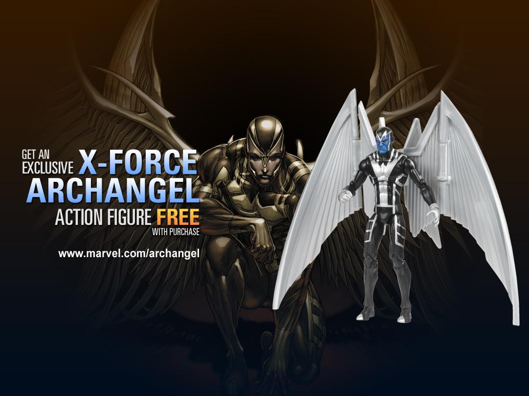 Archangel_Figure_and_BG Marvel announces great C2E2 2011 giveaways