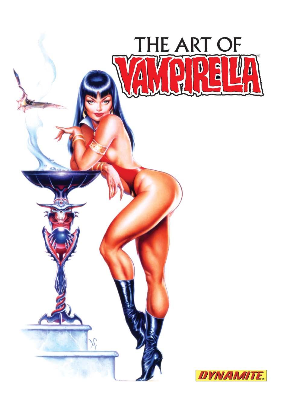 ArtOfVampirellaSelfCover VAMPIRELLA #5 guest stars Dracula in March