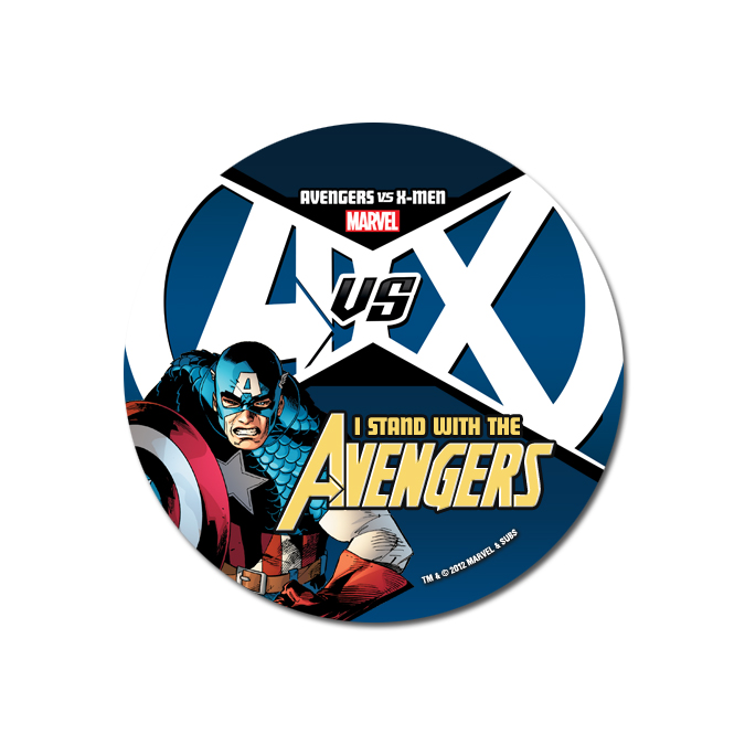 AvX_Avengers_Button ComicList: Marvel Comics for 04/04/2012