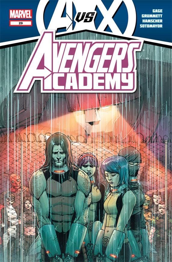AvengersAcademy_29_Cover Marvel releases more May AVENGERS VS. X-MEN covers