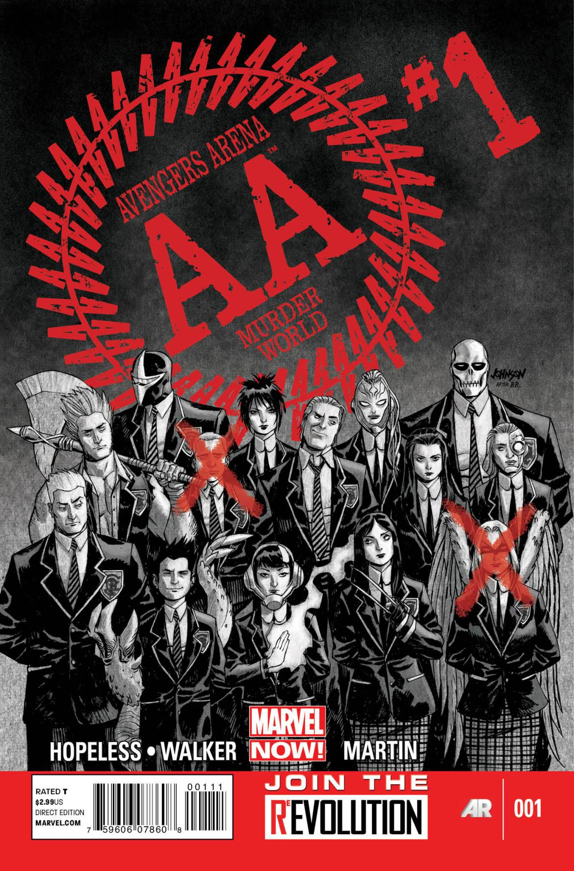 AvengersArena_01_Cover Teen heroes battle to the death in AVENGERS ARENA