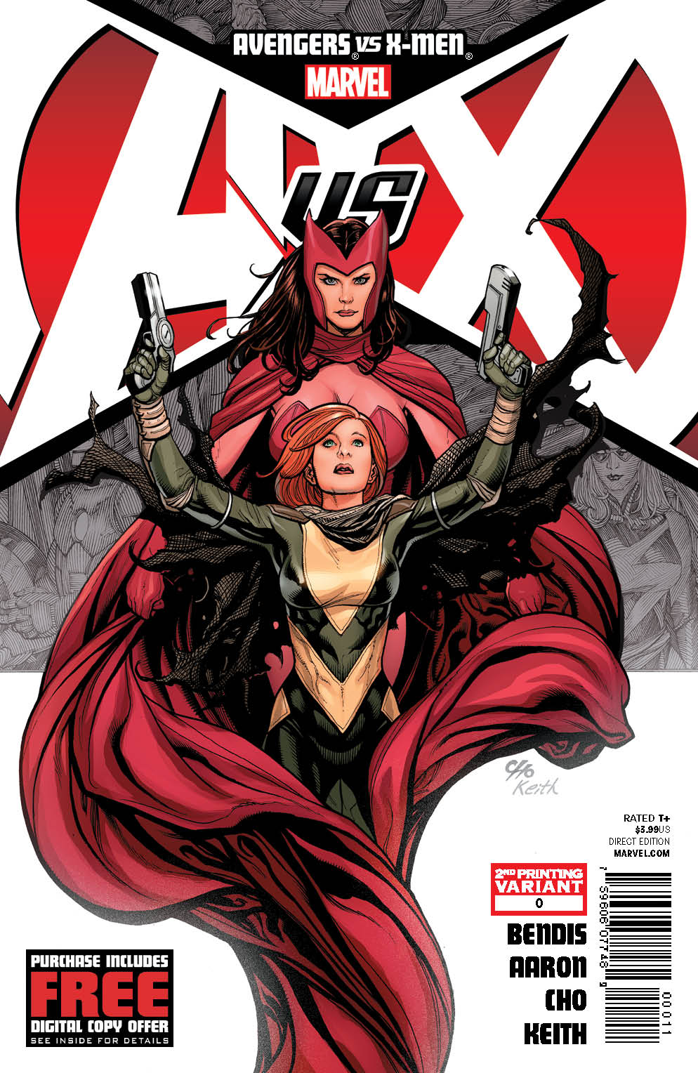 AvengersVSXMen_0_SecondPrintingCover AVENGERS VS. X-MEN second printings rushed to stores