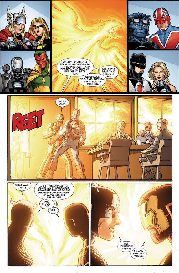 AvengersVSXMen_1_Preview3 First Look at AVENGERS VS. X-MEN #1