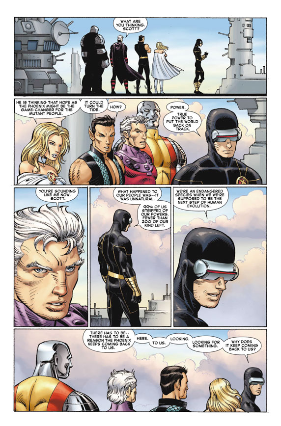 AvengersVSXMen_1_Preview5 First Look at AVENGERS VS. X-MEN #1