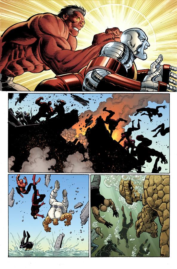 AvengersVSXMen_2_Preview2 First Look at AVENGERS VS. X-MEN #2