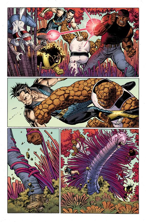 AvengersVSXMen_4_Preview3 First Look at AVENGERS VS. X-MEN #4