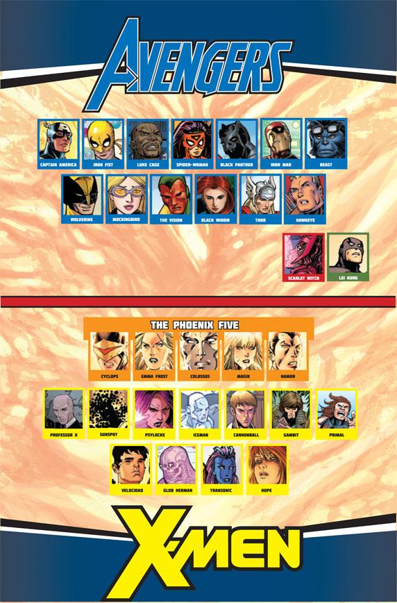 AvengersVSXMen_6_Preview2 The Phoenix Force initiates Pax Utopia in AVENGERS VS X-MEN #6