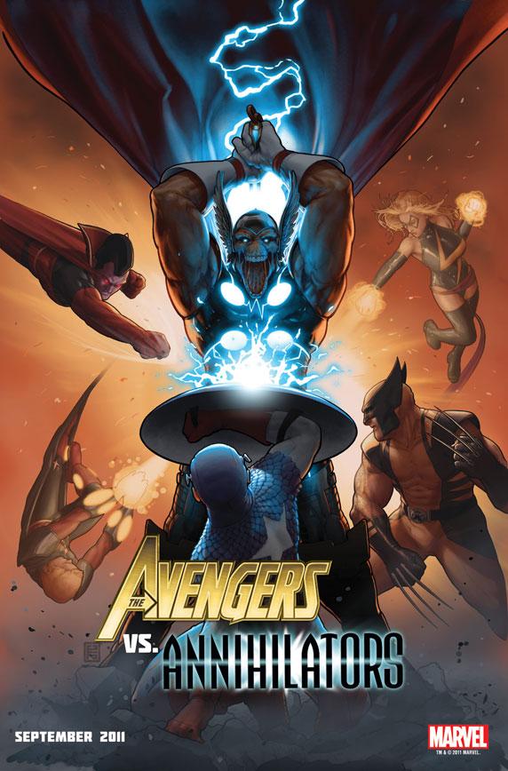 AvengersVsAnnihilators Avengers Vs. Annihilators in ANNIHILATORS: EARTHFALL