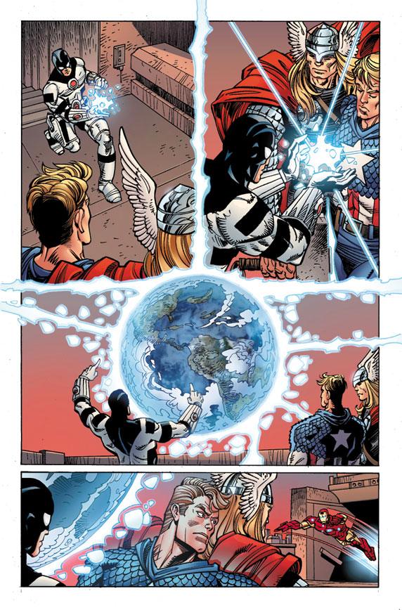 Avengers_25_Preview2 First Look at AVENGERS #25