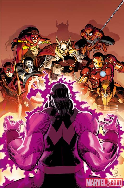 Avengers_2_RomitaJrCover First Look At AVENGERS #2