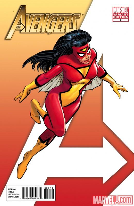 Avengers_2_RomitaJrVar First Look At AVENGERS #2