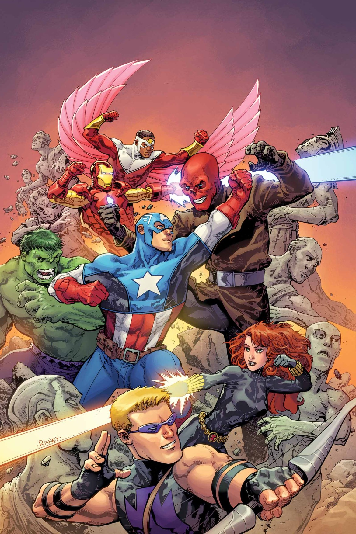Avengers_VS_1_Cover The action never ends until it does in AVENGERS VS #1