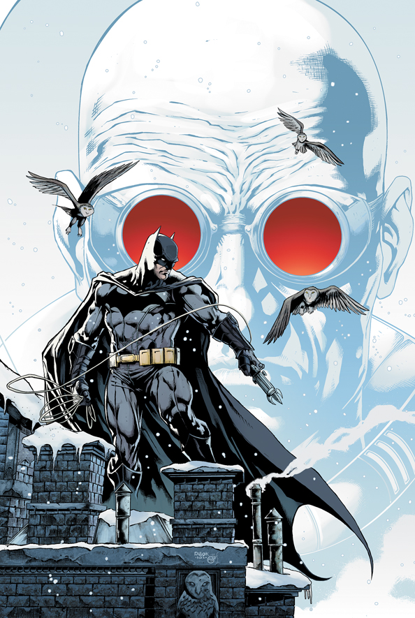 BMANN_Cv1 Meet Mr. Freeze for the first time in BATMAN ANNUAL #1