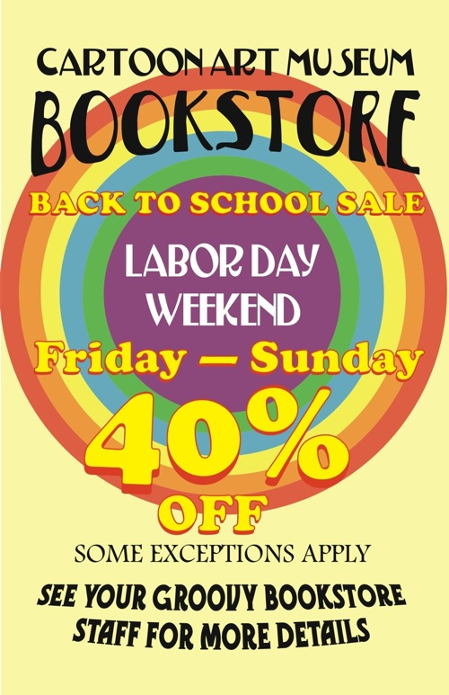 Back_to_School_Sale-web Cartoon Art Museum to have Labor Day sale