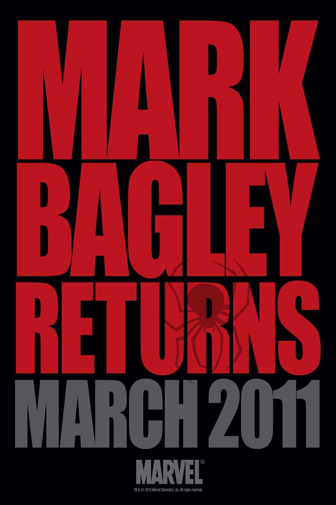 Bagley_Tease Mark Bagley joins DEATH OF SPIDER-MAN creative team