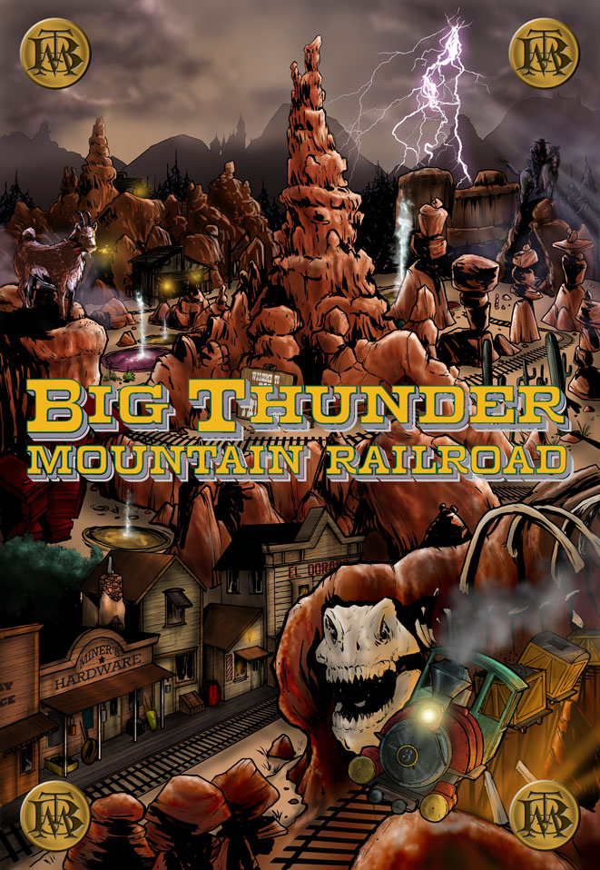 BigThunder_Teaser BIG THUNDER MOUNTAIN RAILROAD focuses on theme park attraction