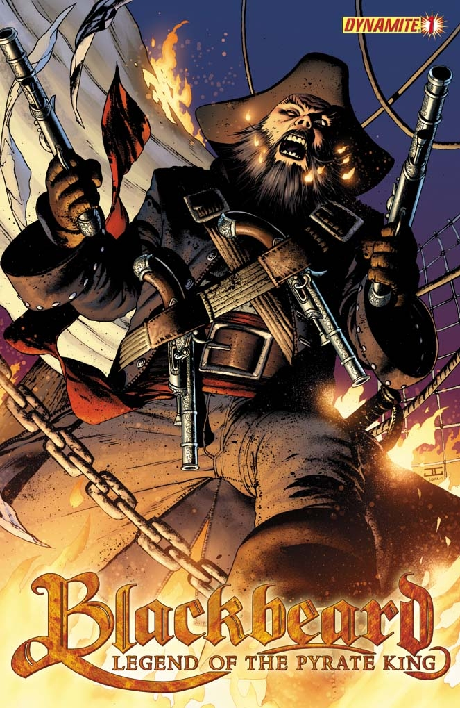 BlackBeard01CoverRev Blackbeard: The Legend Of The Pyrate Kings Sets Sail This October