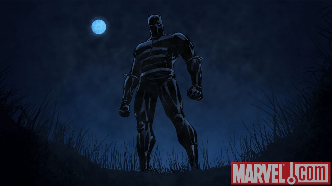 BlackPanther_MKA_Preview1 Marvel announces new BLACK PANTHER animated series
