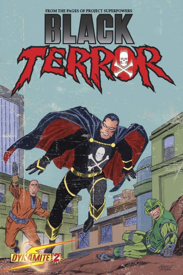 BlackTerror02CovTuska George Tuska And John Romita Sr. Cover The Black Terror